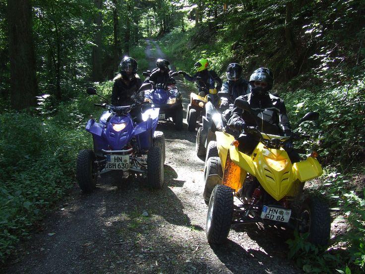 Quad Tour durch den Mainhardter Wald. Auch als Geschenkgutschein erhältlich!
