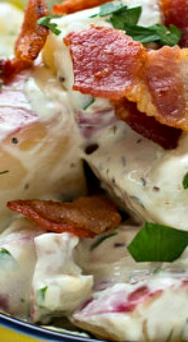 ... on Pinterest | Roasted potatoes, Potato salad and Baby red potatoes