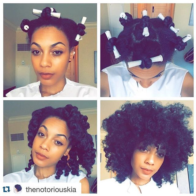 #Repost @thenotoriouskia  Twist & curl (10 twists) using only WATER  I did a…