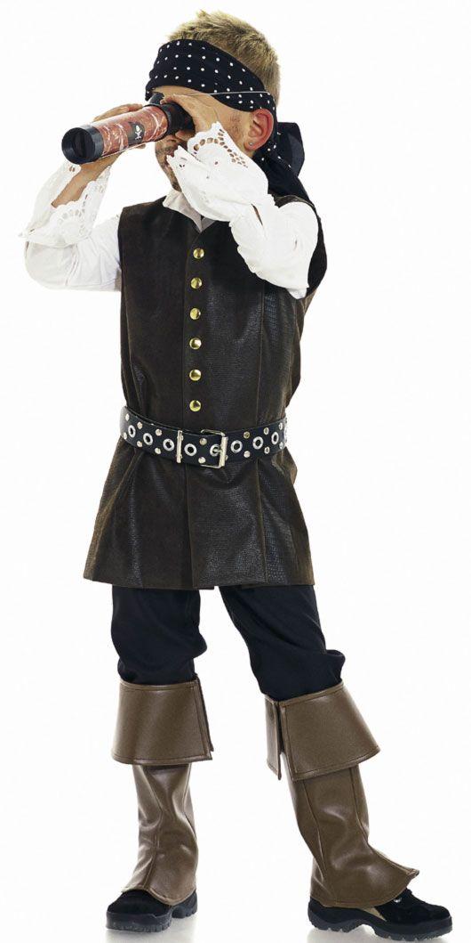 Patron enfant, pirate déguisement et carnaval - Burda 2452