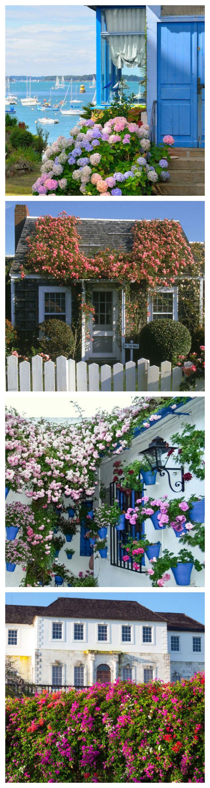 Amazing Flower Gardens #exteriors