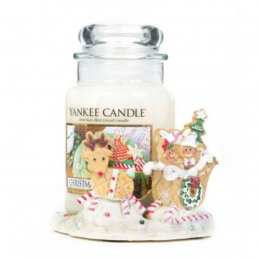@theyankeecandle 1 giara grande con portagiara Gingerbread #home #fragrance #gifts #candle