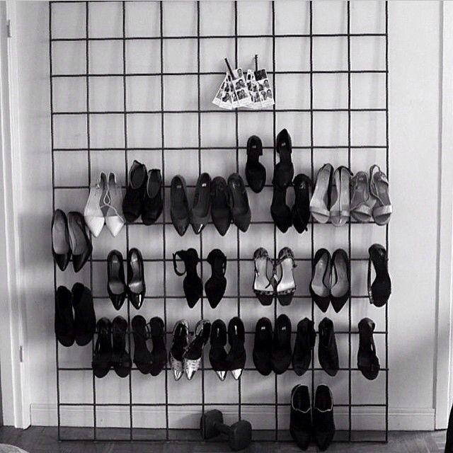 Mycket #skor? Det här måste vara ett av dom smartaste, snyggaste och billigaste…