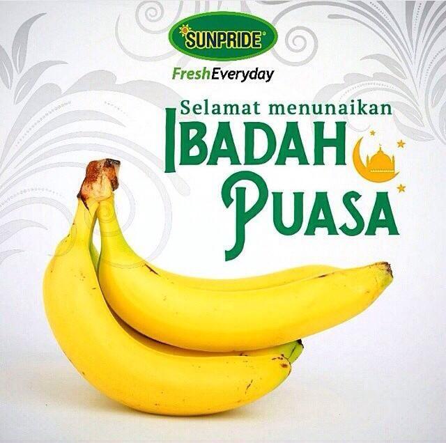 Selamat menunaikan ibadah puasa hari pertama, Fruitaholic! Pastikan asupan nutrisi baik untuk sahur dan berbuka ya! Salam fresh everyday!