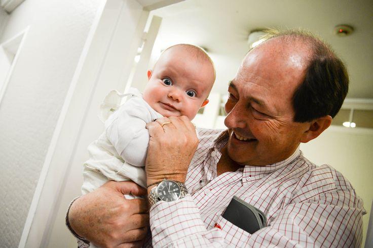 Con mi nieto Teo.