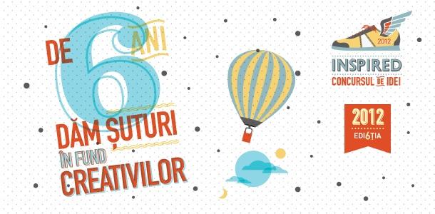 INSPIRED, Concursul de Idei – cea mai cunoscuta platforma de creativitate pentru tinerii din Romania