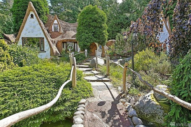 Homes straight out of  fairy tales.