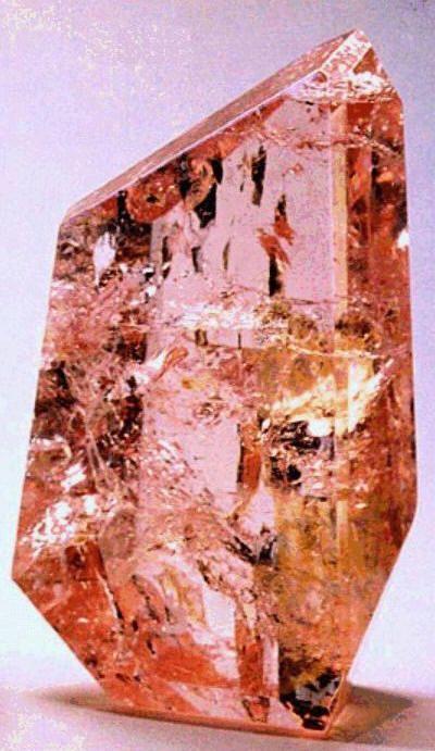 morganite (pink beryl), named after j. p. morgan