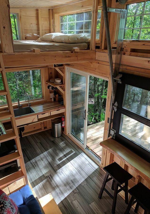 Cabane dans les arbres ou cabane sur roulette : dormir dans une ...
