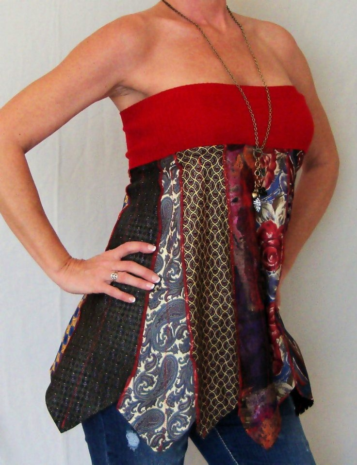 Upcycled Necktie Creations by Pandora's Passions