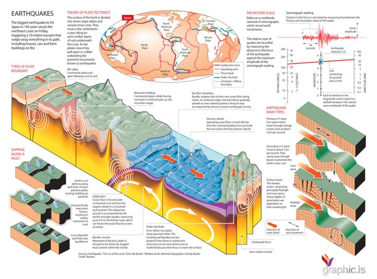 The Anatomy of an Earthquake
