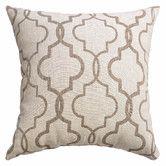 Found it at Wayfair - Ezra Tile Throw Pillow