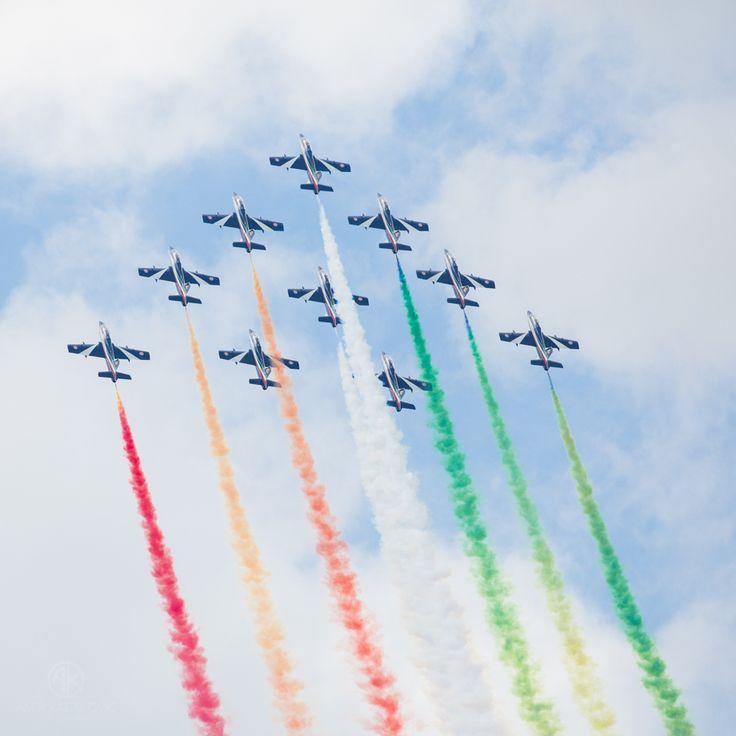 Frecce Tricolory @ AIRPOWER 2013