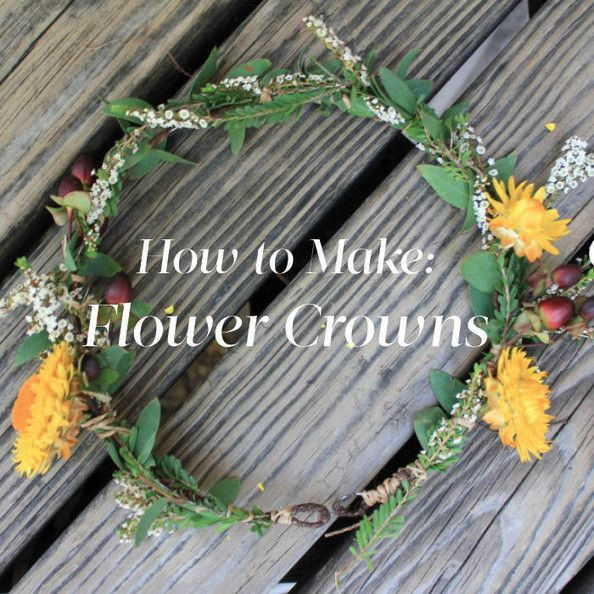 Flower Crowns 101 - How to Make a Flower Crown - Lonny