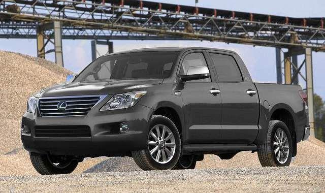 Lexus LXT pickup truck concept