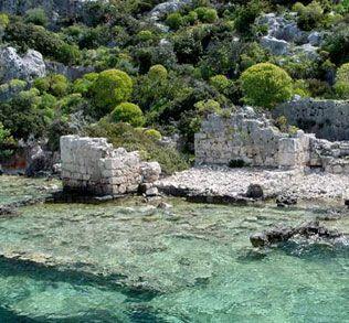 Kas/Kekova, Turkey. ancient ruins fascinate me.