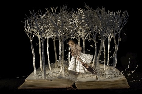"""The Girl in the Wood,"" 2008. Photograph by Andrew Meredith."