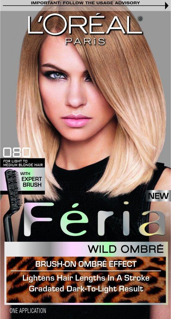 Preview, Photos: L'Oréal Paris Féria Wild Ombré - How To Do Ombre Haircolor Highlights At Home