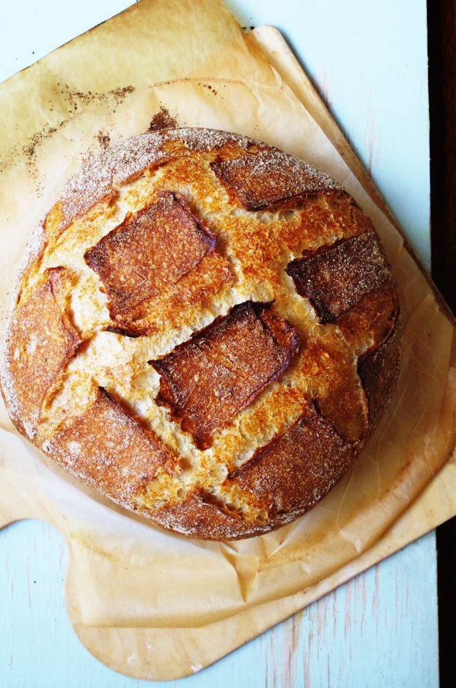 Вермонсткий хлеб/ Vermont Sourdough (Хамельман)