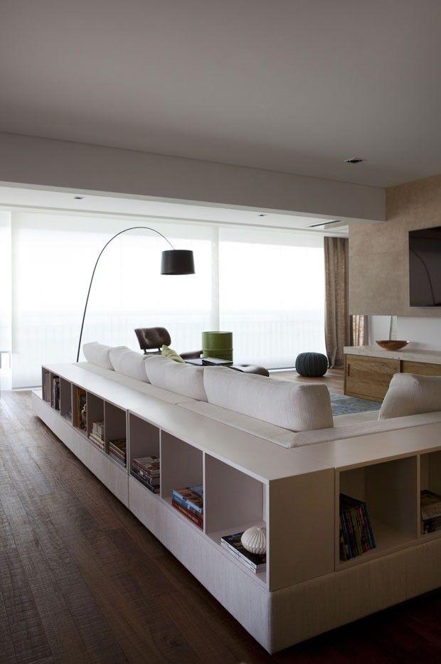 Apartamento com boa marcenaria (Foto: Marco Antonio/Divulgação)