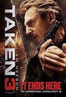 """Taken 3 (TAK3N) (Búsqueda implacable 3) (2015) español, subtitulada... La vida del ex-agente especial Bryan Mills (Liam Neeson) se ve inesperadamente truncada tras el brutal asesinato de su ex mujer. Tras ser acusado de su muerte, se ve obligado a huir de la implacable persecución de la CIA, el FBI y la policía. Una vez más, deberá usar sus """"habilidades especiales"""" para hacer justicia, dar caza a los verdaderos asesinos y proteger lo único que le queda en la vida: su hija."""