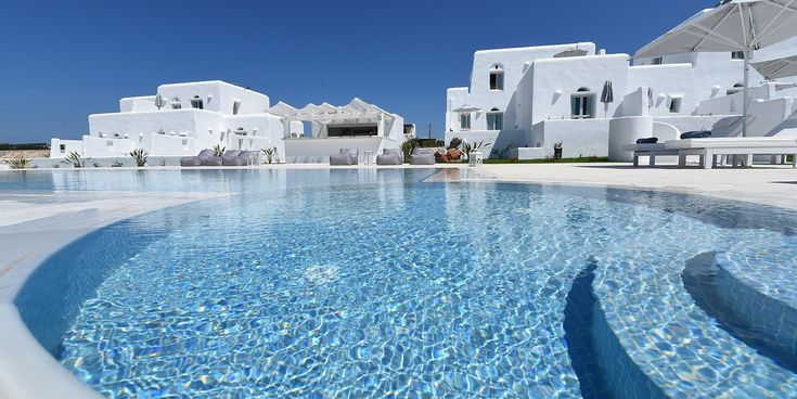"Accoya wood window frames and more by Kritikoswood on the enchanting ""White Dunes"" suites in Paros island"