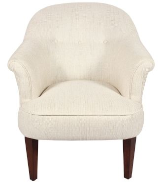 Mersham Chair - Fabric / Colour: Dalton Off White - Chairs