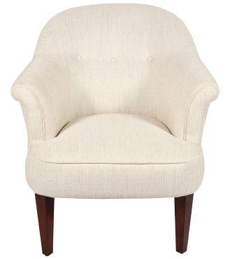 Mersham Chair - Fabric / Colour: Dalton Off White - Chairs