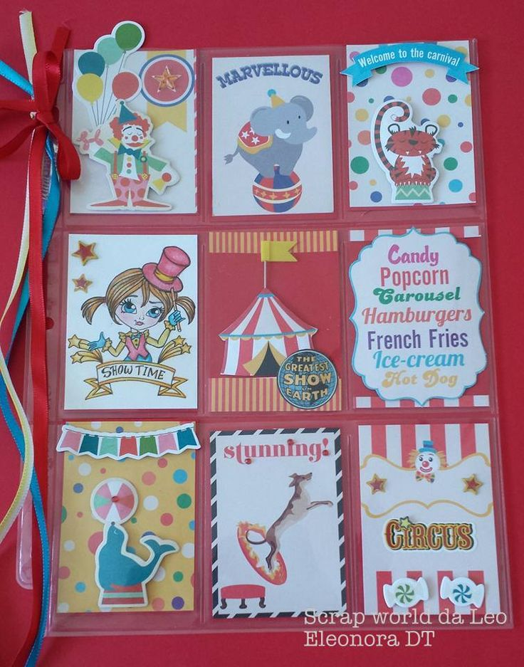 Circus Pocket letter