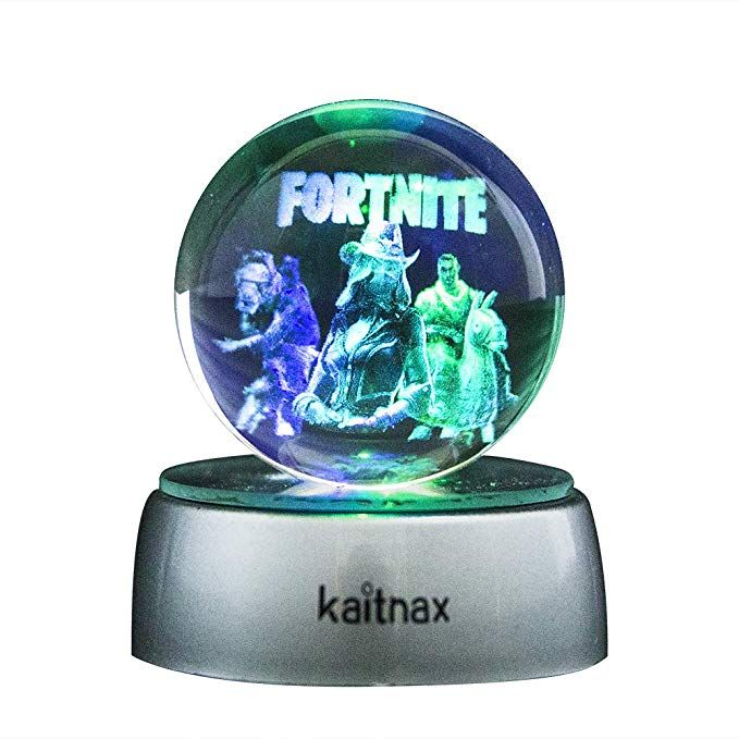 3d Laser Etched Crystal Ball 50mm Lamp With Led Base Fortnite Crystal Ball Fortnite Laser Etching