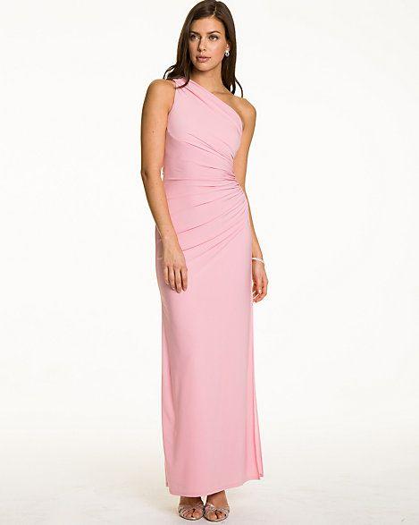 Knit Asymmetrical Gown