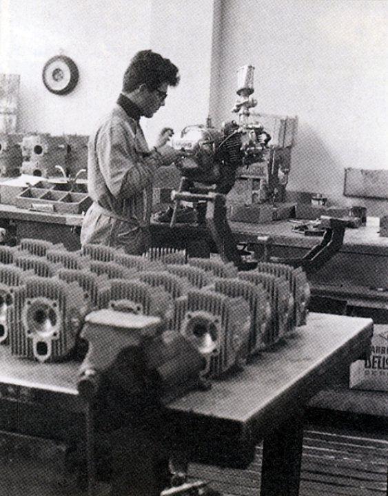Renzo Pasolini - Aermacchi engines