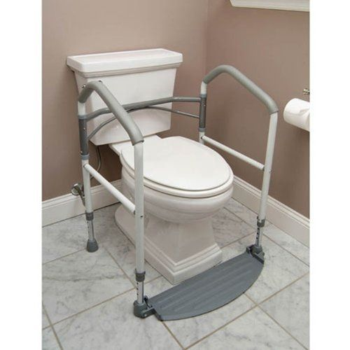 Buckingham Foldeasy Toilet Surround Support Aid Safety Frame * Find similar products by clicking the VISIT button
