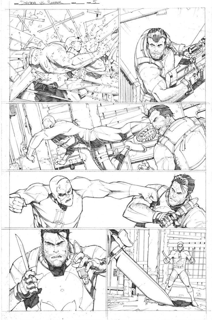 Daredevil Vs. Punisher Portfolio Sample page 5 by Max-Dunbar