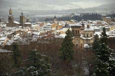 Enero  Desde la terraza del Monasterio de Iharte  Autor:Antonio Sorbet Alzate