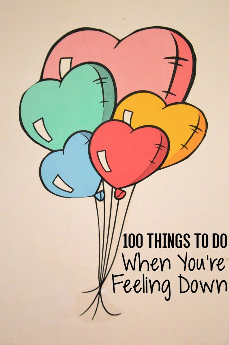 You Re So Pretty: 100 Things To Do When You're Feeling Down