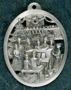 Celebrate Pewter Ornament Made in USA 19.99