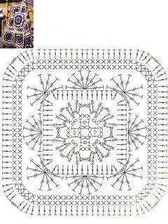Crochet Granny Chart