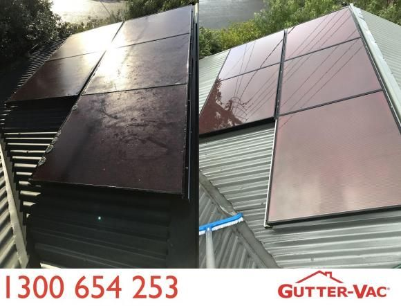 Why clean your solar panels?  Dirt, bird droppings, moss or lichen and air pollution build up over time to make your solar system less efficient. Did you know that only a small section of dirt on a panel can make your system run at a reduced capacity?