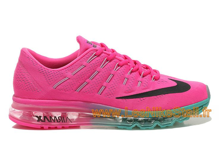 Nike Air Max 2016 GS Chaussures Nike Pas Cher Pour Femme Rose