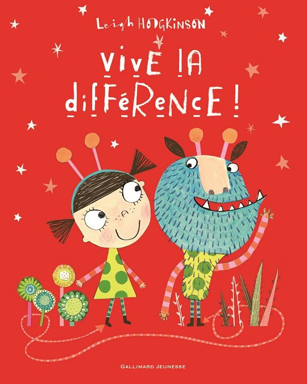 Joli livre sur la différence