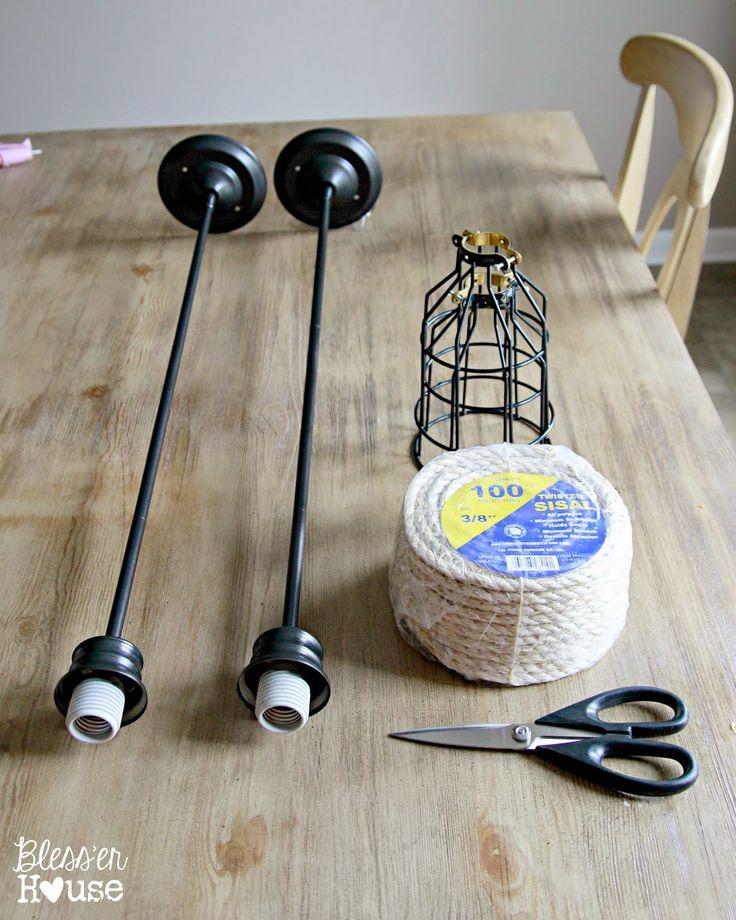 diy industrial pendant lights for under 10 easy and affordable builder grade light makeover austin mason jar pendant lamp diy