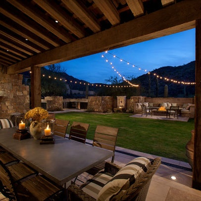 How To Hang String Lights On Covered Patio Beauteous 7 Best Patio String Lights Images On Pinterest  Outdoor Ideas Decorating Inspiration