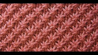 Strickmuster * BROMBEERE * - YouTube