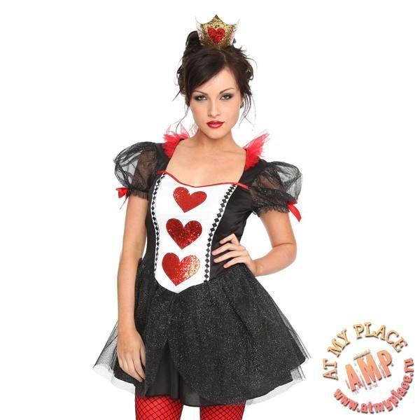 Красная королева костюм