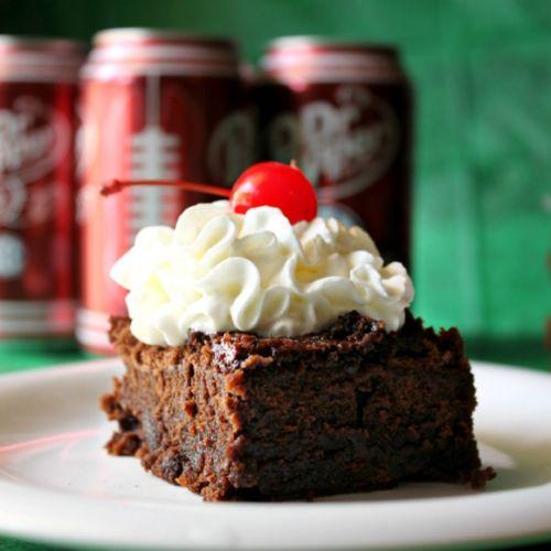 2 Ingredient Dr Pepper® Brownies