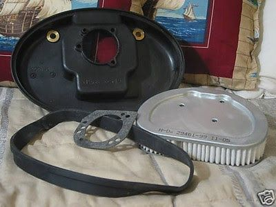 A Junkee Shoppe Junk Market Stop: HARLEY DAVIDSON Air Filter Cleaner Back Body Half  ... For Sale Click Link Here To View >>>> http://ajunkeeshoppe.blogspot.com/2015/12/harley-davidson-air-filter-cleaner-back_5.html