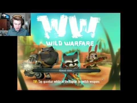 Wild Warfare Part #1: IM A RACOON!!
