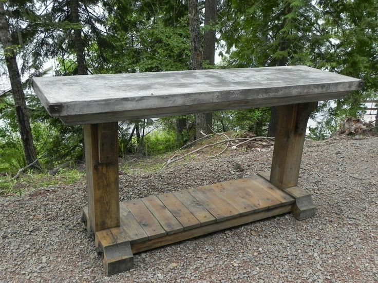 latest craze european outdoor furniture cement. Custom Wooden Base Table With Concrete Top. Latest Craze European Outdoor Furniture Cement
