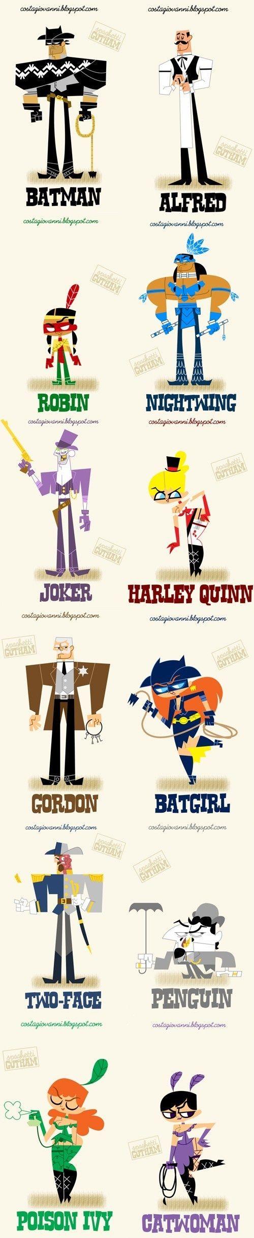 "Batman As Spaghetti Western - Funky Superhero Art - FUNK GUMBO RADIO: http://www.live365.com/stations/sirhobson and ""Like"" us at: https://www.facebook.com/FUNKGUMBORADIO"